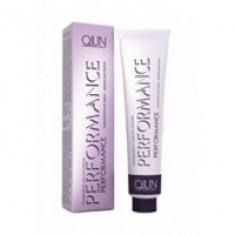 Ollin Professional Performance - Перманентная крем-краска для волос, 10-7 светлый блондин коричневый, 60 мл. Ollin Professional (Россия)