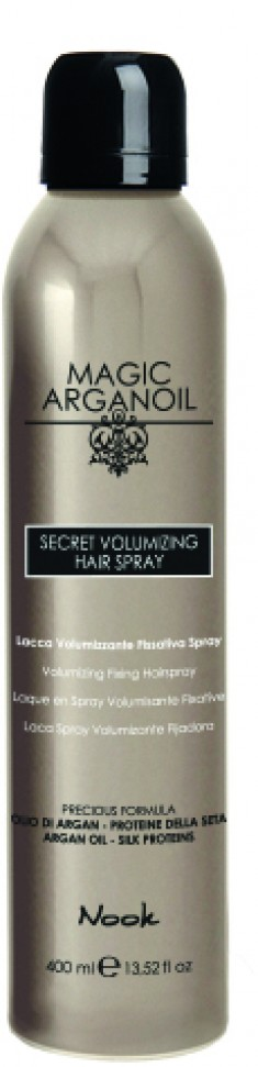 NOOK Лак секретный для объемных укладок волос Магия Арганы / Secret Volumizing MAGIC ARGANOIL 400 мл