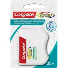 Зубная лента COLGATE TOTAL с фтором мятный вкус 25 м