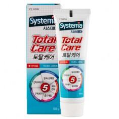 Паста зубная LION SYSTEMA Total care green mint 120 г CJ LION
