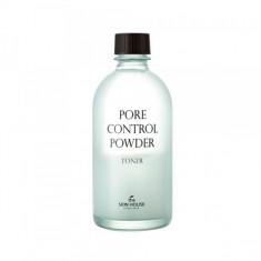 тонер для матирования и сужения пор the skin house pore control powder toner