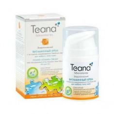 Энергетический витаминный крем с экстрактом микроводоросли, 50 мл (Teana)