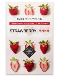Маска с экстрактом клубники ETUDE HOUSE 0.2 Therapy Air Mask Strawberry
