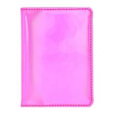 Обложка для паспорта LADY PINK голографическая розовая