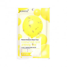 Тканевая маска с коэнзимом Q10 EUNYUL Natural Moisture Mask Pack Coenzym, 22мл