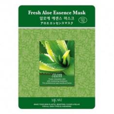 Маска тканевая алоэ Mijin Fresh Aloe Essence Mask 23гр