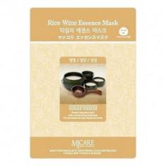 Маска тканевая Макколе рисовое вино Mijin Makgeolli Essence Mask 23гр