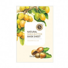 Маска тканевая с экстрактом масла ши THE SAEM Natural Shea Butter Mask Sheet 21мл