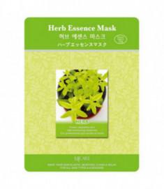 Маска тканевая экстракты трав Mijin Herb Essence Mask 23гр