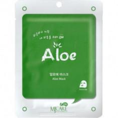 Маска тканевая с алоэ Mijin MJ CARE on Aloe mask pack 22гр