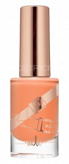 CATRICE Marina Hoermanseder Лак для ногтей Nail Lacquer С02 Nectarine Butterfly