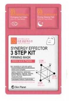 Трехшаговый комплекс укрепляющий Mijin Skin Planet synergy effector 3step kit FIRMING MASK 25гр/2мл/1,5мл