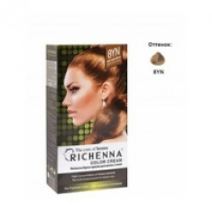 Richenna Color Cream 8 yn - Крем-краска для волос с хной, светло-золотой блонд