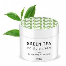 крем для лица увлажняющий a'pieu green tea seed moisture cream