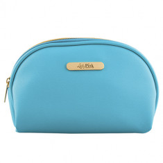 Косметичка LADY PINK MUST HAVE LIMITED овальная Light blue