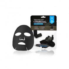 Тканевая маска для лица с древесным углем 3W CLINIC Fresh Charcoal Mask Sheet