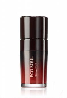 Тинт для губ двухслойный THE SAEM Eco Soul Shaker Tint RD01 Bloody Day 10гр