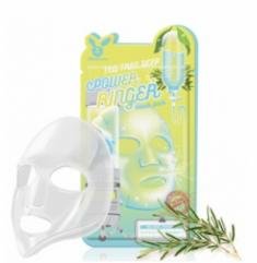Маска тканевая с чайным деревом ELIZAVECCA Tea tree deep power ringer mask pack 23мл*10шт