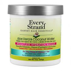 Маска для волос EVERY STRAND с соком алоэ вера и кокосовой водой в банке 425 г