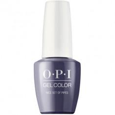 Гель лак для ногтей OPI GelColor Nice Set of Pipes 15мл