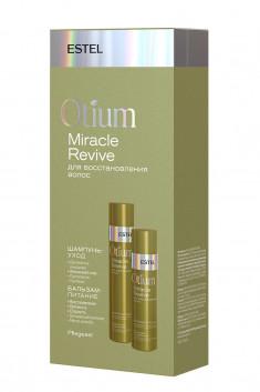 ESTEL PROFESSIONAL Набор для восстановления волос (шампунь 250 мл, бальзам 200 мл) OTIUM MIRACLE REVIVE