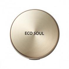 Пудра компактная золотая сменный блок THE SAEM Eco Soul Luxury Gold Pact 23 Natural BeigeRefill