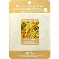Маска тканевая Рисовые отруби Mijin Rice Bran Essence Mask 23г