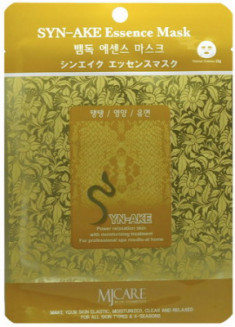 Маска тканевая Змеиный яд Syn-Ake Essence Mask 23гр Mijin