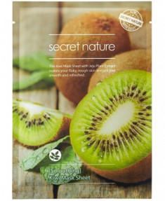 Тканевая маска для лица с киви Secret Nature Smoothing Kiwi Mask Sheet 25 мл