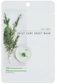 Набор тканевых масок с экстрактом чайного дерева EUNYUL TEA TREE DAILY CARE SHEET MASK 22г*3шт