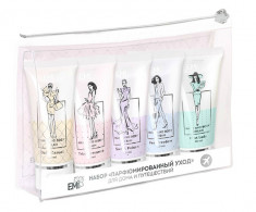 E.MI Набор для рук и тела Ультраувлажнение, парфюмированный уход (крем для рук и тела 5 х 30 мл)