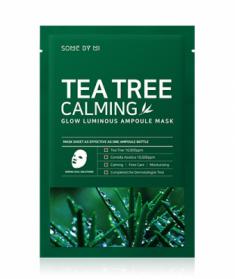 Маска тканевая успокаивающая с чайным деревом SOME BY MI Tea Tree Calming Glow Luminous Ampoule Mask