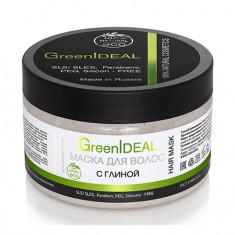 GreenIDEAL, Маска для волос, с глиной, 230 г