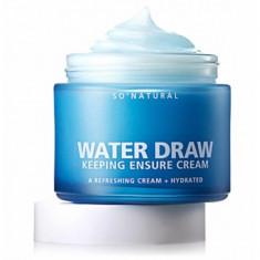увлажняющий крем на основе ледниковой воды so natural high water draw keeping ensure cream