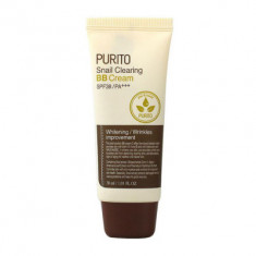 BB-крем с муцином улитки PURITO Snail Clearing BB cream №27 Sand Beige 30мл