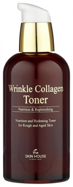 THE SKIN HOUSE Тонер антивозрастной с коллагеном / Wrinkle Collagen 130 мл