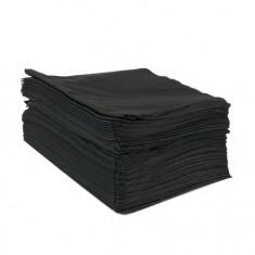 Dewal, Полотенце черное, 45х90 см, 50 шт.