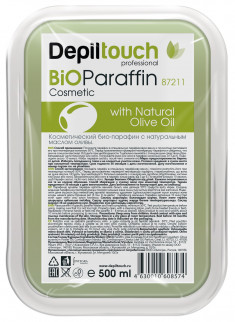 DEPILTOUCH PROFESSIONAL Парафин-био с маслом оливы / Depiltouch professional 500 г