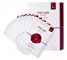 Маска тканевая с пептидом омолаживающая It's Skin SYN®-AKE Synake Vital Mask Sheet 22 г*10 шт It'S SKIN