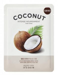 Тканевая маска увлажняющая с кокосом It's Skin The Fresh Mask Sheet Coconut 18 г It'S SKIN