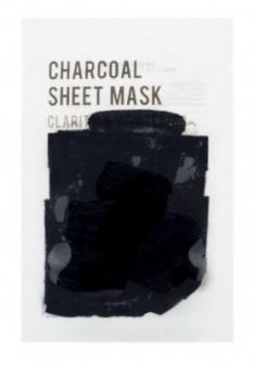 Тканевая маска с древесным углем EUNYUL PURITY CHARCOAL SHEET MASK 22мл
