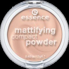 Пудра компактная Mattifying Compact Powder Еssence 11 pastel beige Essence